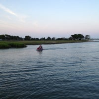 Photo taken at Murrell's Inlet Marshwalk by Suzanne A. on 7/27/2013