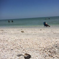 Photo taken at Tarpon Bay Beach by Leo L. on 4/25/2014