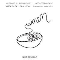 Photo taken at Ramen Noedelbar by Klaas C. on 1/4/2013