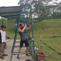 Photo taken at Singapore Gun Club by Evgeny R. on 6/15/2014