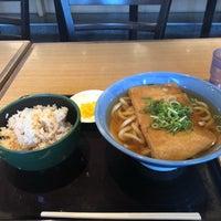 Photo taken at 阪急そば 園田店 by ポツダム on 1/10/2018