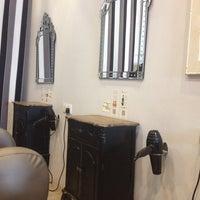 Photo taken at Scissor Park Hair Studio by Joey T. on 4/10/2014