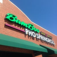 Photo taken at Bamboo Pho & Springroll by Barbara K. on 3/13/2014