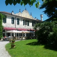 Photo taken at Villa Luppis by Giacomo V. on 5/13/2013