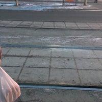 Photo taken at Остановка «Дом Кино» by Dasha on 3/17/2016