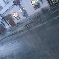 Photo taken at Остановка «Дом Кино» by Dasha on 3/24/2016