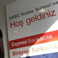 Photo taken at Hsbc Kızılay Şubesi by akutluca_officiall  on 1/30/2017
