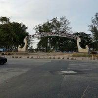 Photo taken at Dataran Shah Bandar Kuala Terengganu by Haseena H. on 4/24/2016