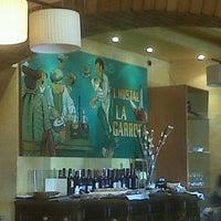 Photo taken at Restaurant La Garrofa by Ferran J. on 2/23/2013