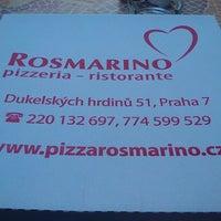 Photo taken at Ristorante Rosmarino by Stanislav K. on 4/22/2013