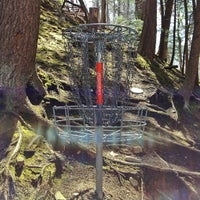 Photo taken at Marshall Street Pyramids Disc Golf Course by Matt J. on 4/22/2013