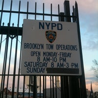 Photo taken at Brooklyn Tow Yard by Paul H. on 12/18/2012