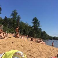 Photo taken at Озеро в Красногорском лесу by Yana B. on 7/14/2014