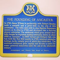 Photo taken at Ancaster Old Town Hall by Markus Zachary Xavier H. on 9/10/2015