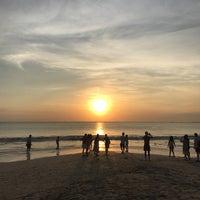 Photo taken at Jimbaran Beach Cafe by Daria on 7/1/2017