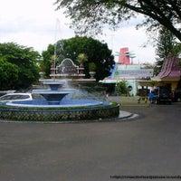 Photo taken at Taman Rekreasi Sengkaling by checilia r. on 1/5/2014