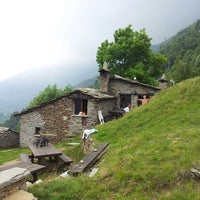 Photo taken at Rifugio SAP by Andrea P. on 7/6/2013