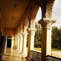 Photo taken at Chowmahala Palace by Rinald D. on 3/6/2014