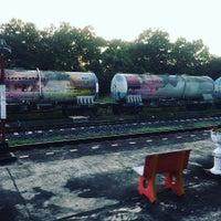 Photo taken at Lam Phun Railway Station (SRT1216) by mayra m. on 11/17/2016