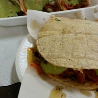Photo taken at Tacos El Poblano by Gus on 7/12/2013