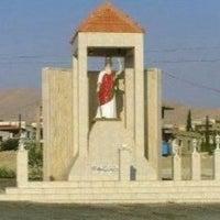 Photo taken at كنيسة مار الياس الحي - رأس بعلبك by josette r. on 7/19/2014