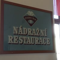 Photo taken at Nádražní restaurace by Posp on 8/18/2016