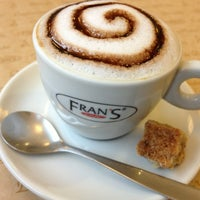 Photo taken at Fran's Café by Otávio P. on 1/27/2013