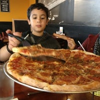 Photo taken at NYPD Pizza by Maria M. on 12/30/2012