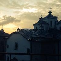 Photo taken at Манастир Свети Јоаким Осоговски / Joachim of Osogovo Monastery by Hristijan on 4/6/2014