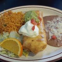 Photo taken at Los Panchos by Jill B. on 2/7/2014