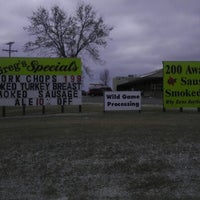 Photo taken at Greg's Meats by Sim C. on 11/23/2012