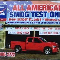 Photo taken at All American Smog Test Only by Joseph E. on 4/20/2013