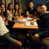 Photo taken at Mojbha Wine Bar by Valerio F. on 8/7/2014