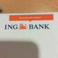 Photo taken at ING Bank by Gizem Ü. on 7/13/2015