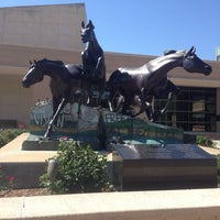 Photo taken at Horses Sculpture by Vina on 5/17/2014