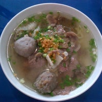 Photo taken at Bakso Lebong by Septiandy S. on 11/9/2013