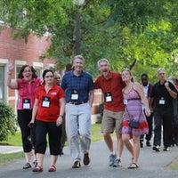 6/29/2014 tarihinde Jon T.ziyaretçi tarafından Leo O'Donovan Dining Hall, Georgetown University'de çekilen fotoğraf