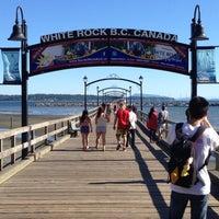 Photo taken at White Rock by Ariel A. on 7/16/2013