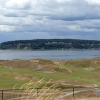 Photo taken at Chambers Bay Golf Course by Ali W. on 6/19/2013