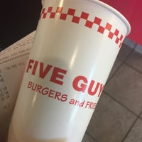 Photo taken at Five Guys by Monique S. on 10/16/2016