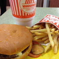 Photo taken at Whataburger by César C. on 3/25/2014