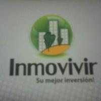 Photo taken at Inmobiliaria Inmovivir by Carlos Enrique T. on 2/20/2012