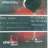 Photo taken at Vinit bar by Jiří B. on 9/1/2015
