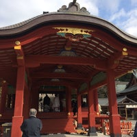 Photo taken at 鶴岡八幡宮 若宮 by ぷー on 2/21/2015