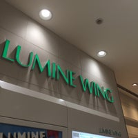 Photo taken at LUMINE WING by ぷー on 1/17/2015