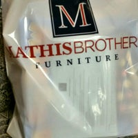 Photo taken at Mathis Brothers Furniture by Kelli W. on 12/3/2016