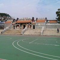 Photo taken at Pak Tai Temple Playground 北帝廟遊樂場 by Rob on 11/17/2013