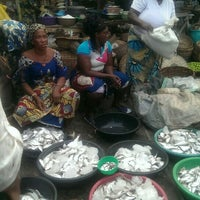 Photo taken at Asejere Market, Makoko by Tomi A. on 9/10/2015