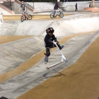 Photo taken at Santa Clarita Skate Park by Marie Z. on 12/30/2013