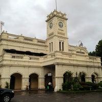 Photo taken at Maradana Railway Station by Vimukthi S. on 9/5/2013